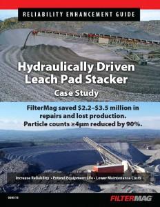 Leach Pad Stacker Case Study